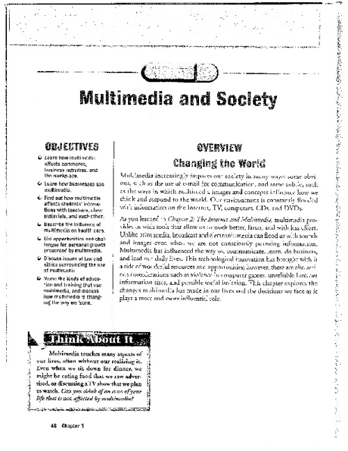 Multimedia Chapter 3