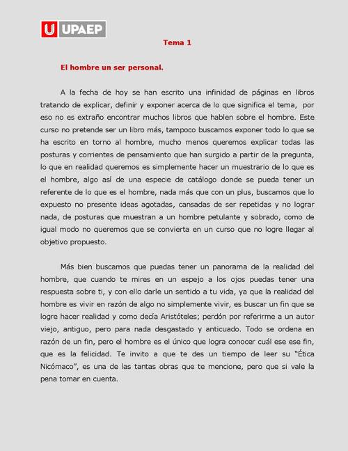 Lectura de sección 1