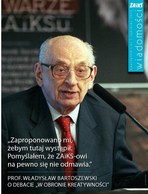 """""""Wiadomości ZAiKS-u"""" nr czerwcowy 1/2012"""