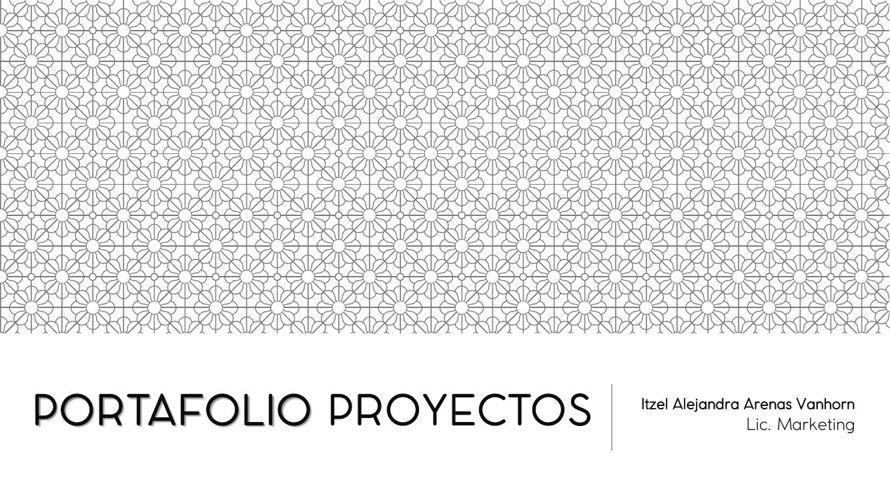 PORTAFOLIO PROYECTOS