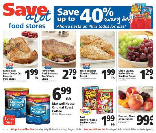 Copy of New Haven Save-A-Lot Current Specials
