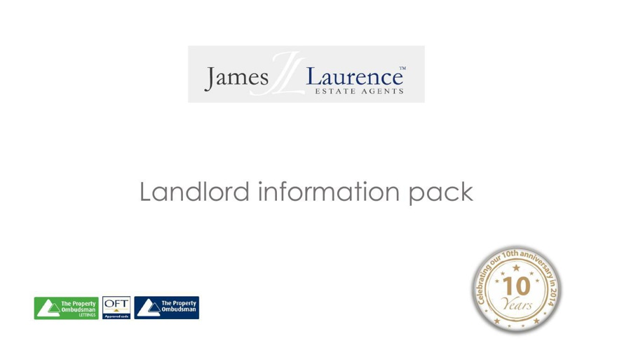 Landlord information pack - slides