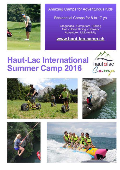 Summer Brochure 2016