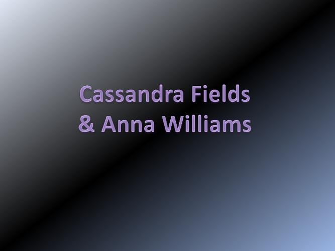 Cassandra and Anna