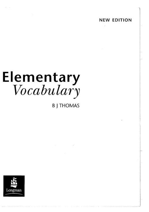 Elementary Vocabulary