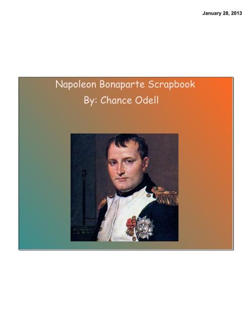 Napoleon Scrapbook