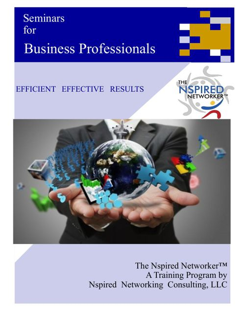 The Nspired Networker™ Training Flyer