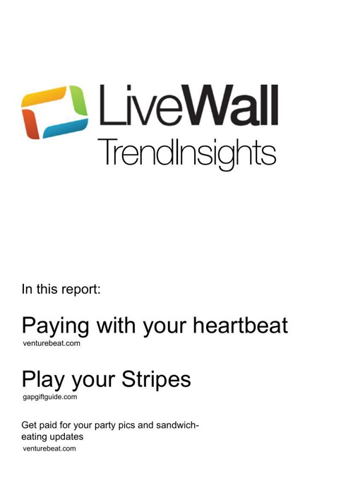 TrendReport LiveWall part one