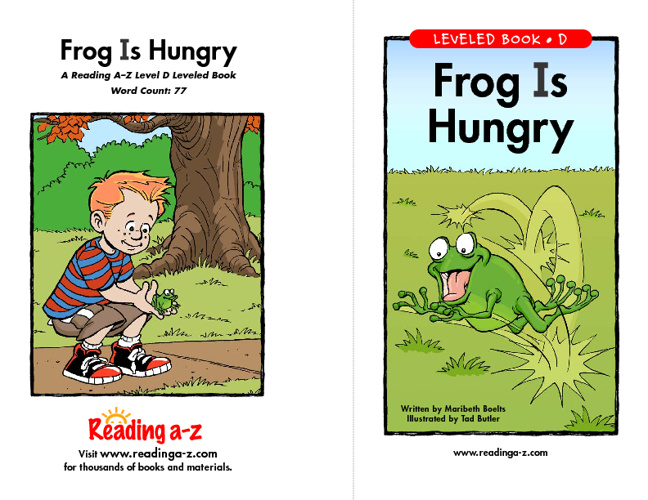 Frog is Hungry