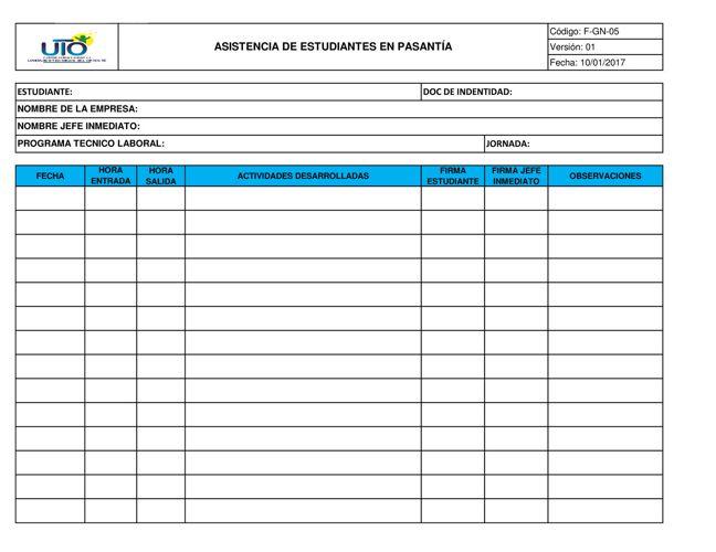 Copy of F-GN-05 Asistencia de Estudiantes en pasantia-ok