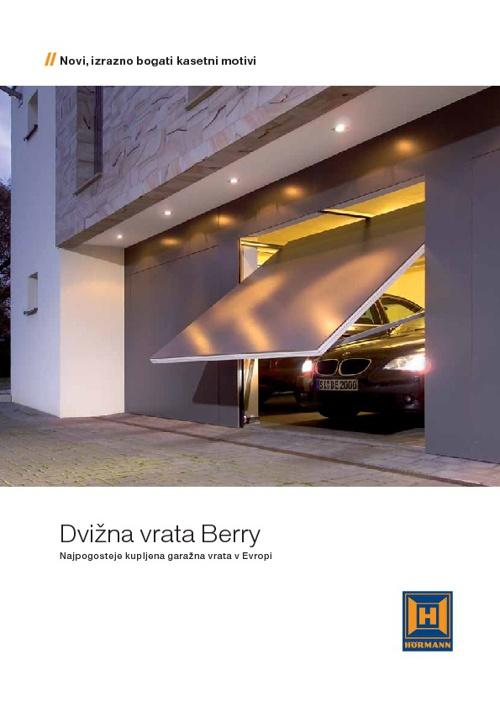 Dvižna garažna vrata Berry