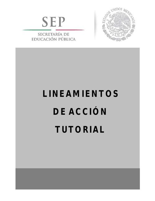 Copy of LINEAMIENTOS TUTORIALES PARA BACHILLERATO