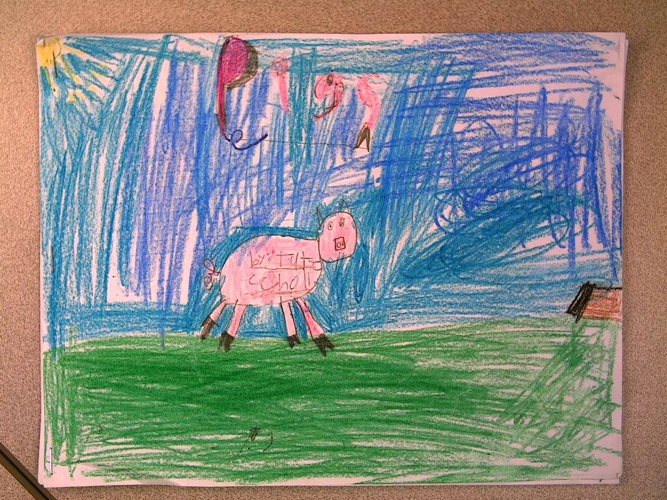 Pigs   By: Tate S.