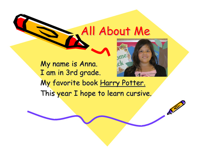Copy of All About Me - Mrs. Boise