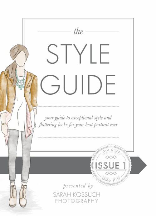 Style Guide // Sarah Kossuch Photography
