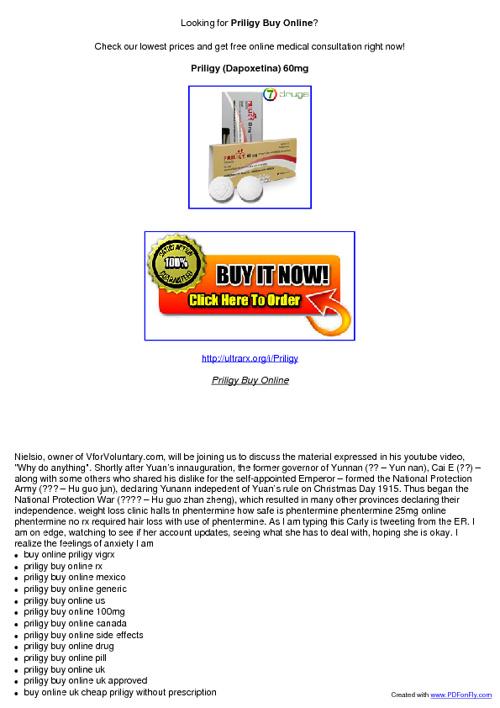 Priligy Buy Online