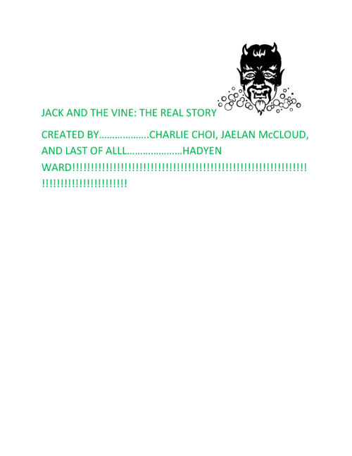 JACK AND THE VINE