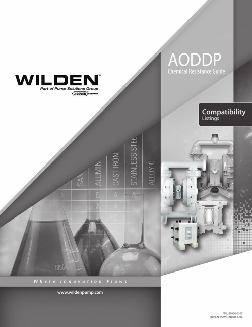 Wilden Chemical Resistance Guide