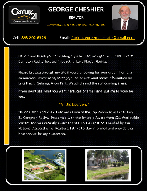 GEORGE CHESHIER Realtor