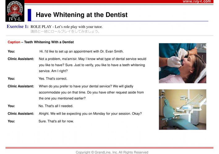 No.02 Have whitening at the dentist