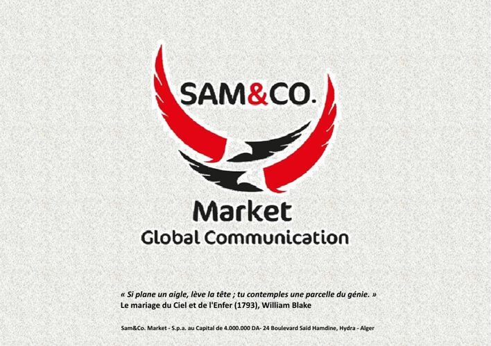 Sam&Co GLOBAL MARKET COMMUNICATION