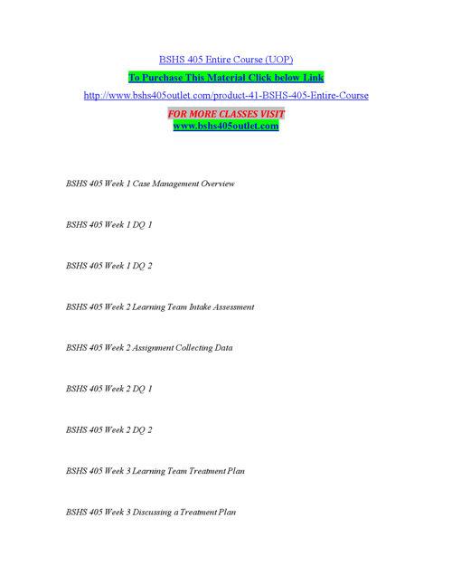 BSHS 405 OUTLET Peer Educator/ bshs405outlet.com