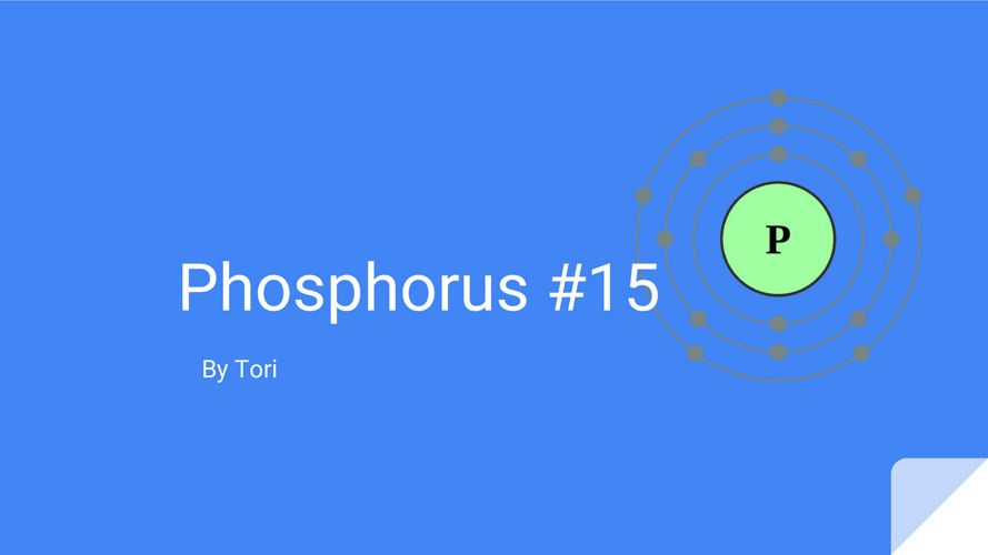 Phosphorus by Tori
