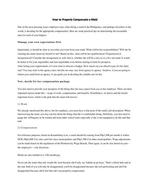 PDF_week3_maidprovider