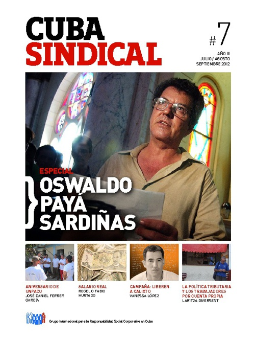 Cuba Sindical #7 Año 3 / Julio-Septiembre 2012