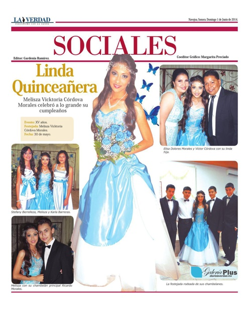 SOCIALES  01 JUNIO 2014