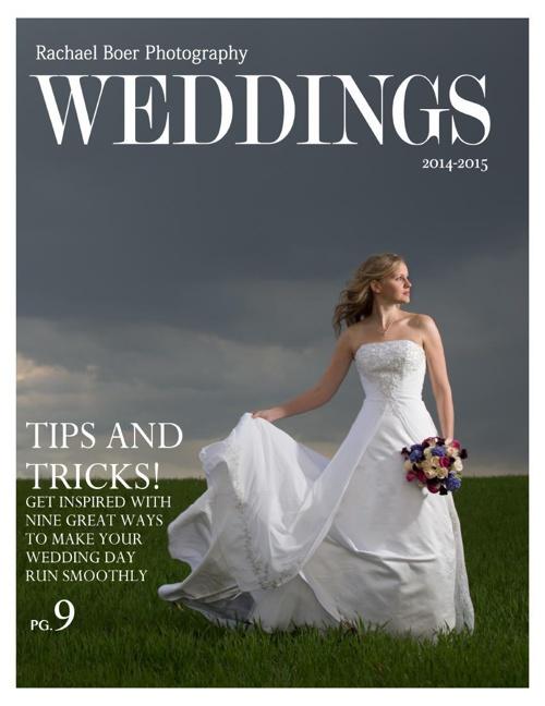 Wedding guide multi-page PDF