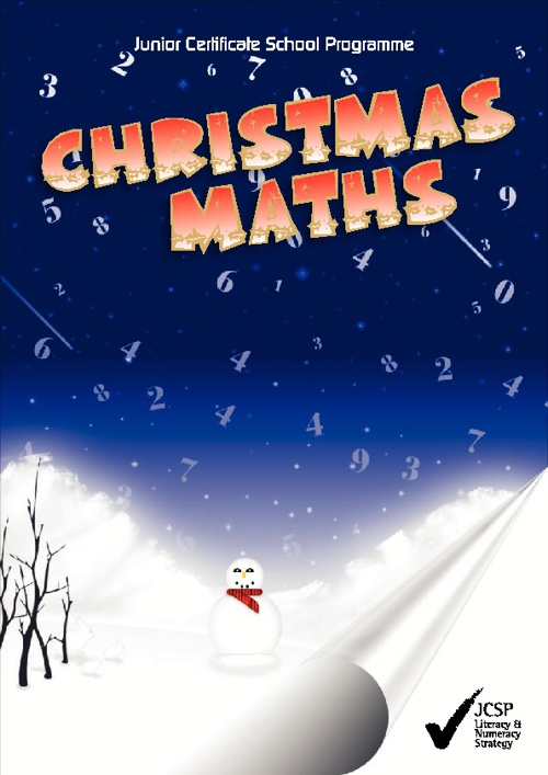 Christmas Maths Workbook