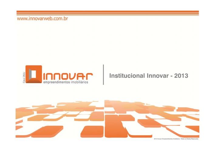 Institucional Innovar 2013
