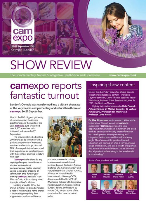 camexpo 2015 Show Review