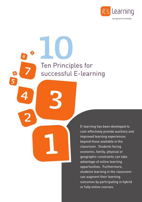 10-Principles-for-Successful-E-learning