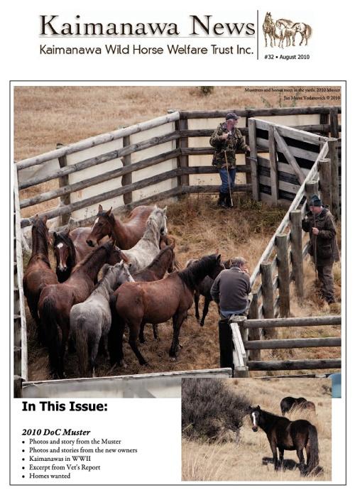 32 KWHWT Newsletter August 2010