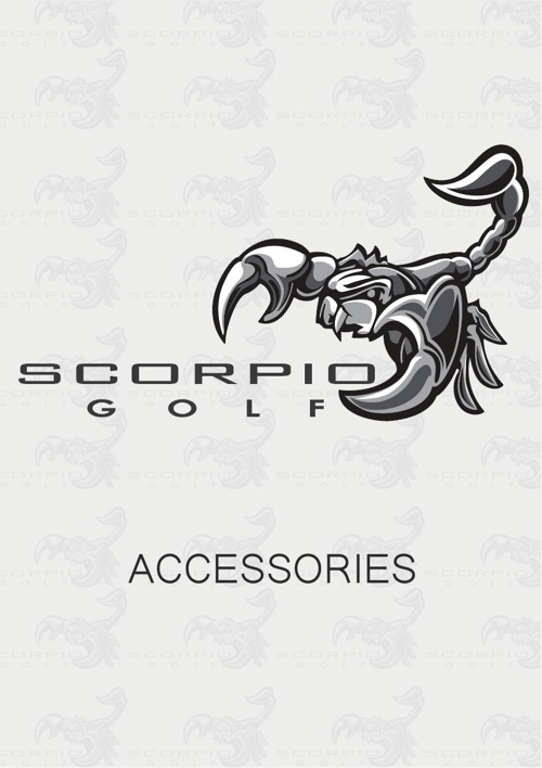SCORPIOGOLF ACCESSORIES