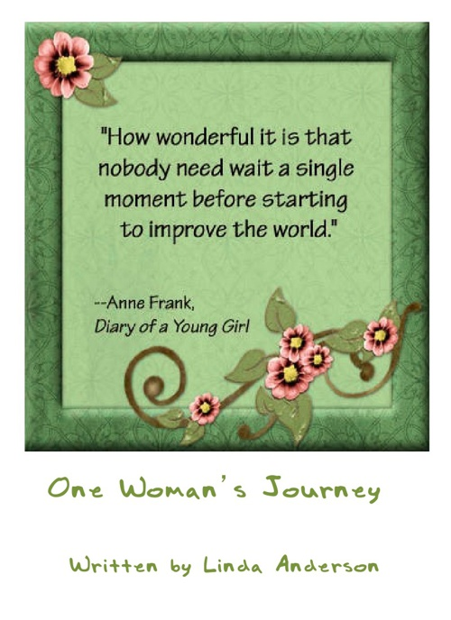 One Womens Journey by linda anderson