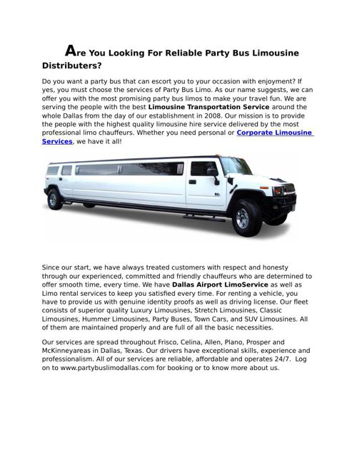Partybuslimodallas-com-Corporate-Limousine-Services