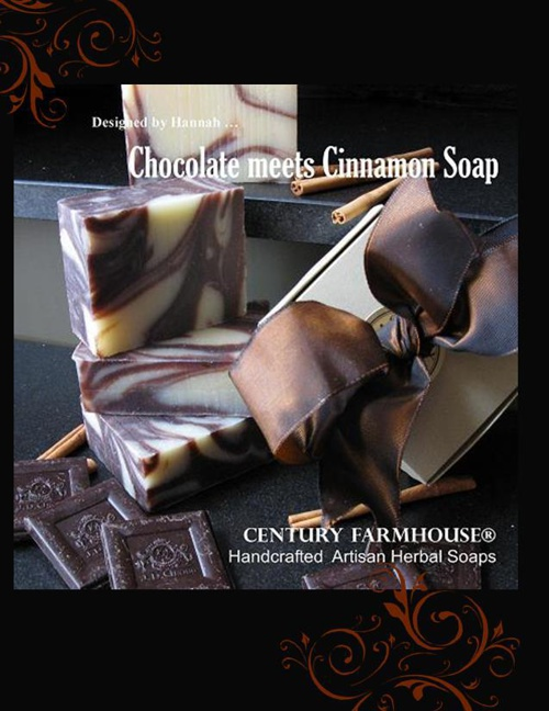 Chocolate meets Cinnamon Soap
