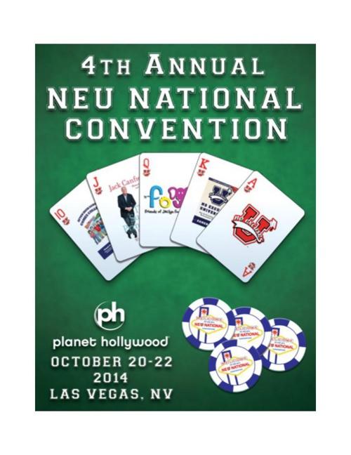 2014 NEU National Convention Program