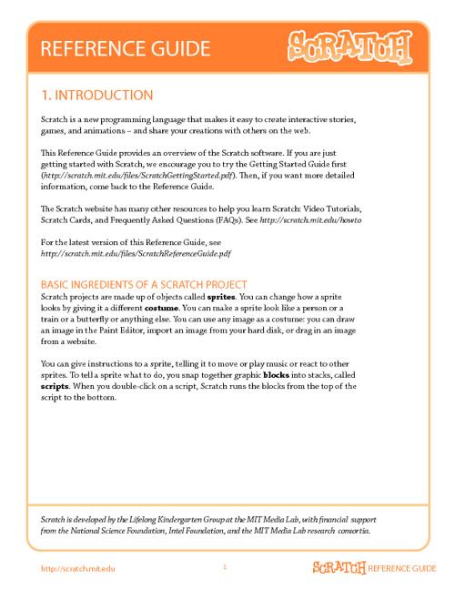 MWD: Unit 201 Scratch Tutorial