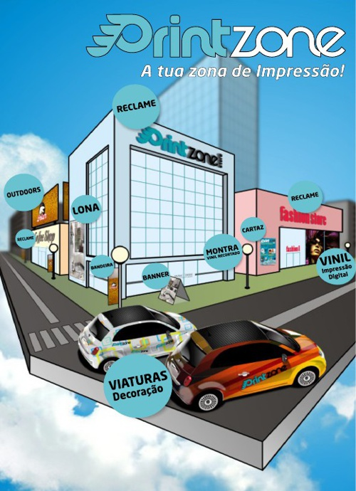 Catálogo Printzone 2013  - A tua Zona De impressão!