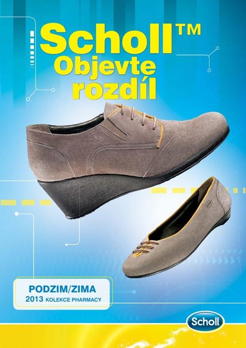 ZDRAVOTNÍ OBUV PODZIM-ZIMA 2013 - SCHOLL - CZ
