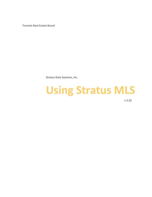 Help for Stratus MLS