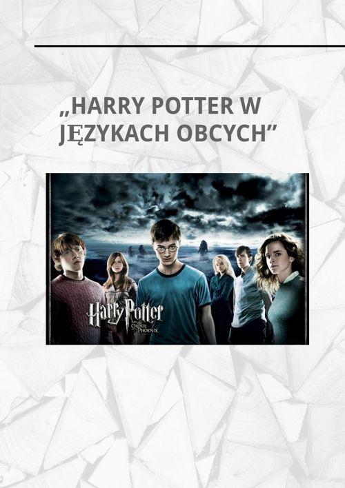 """""""Harry Potter w Językach Obcych"""""""