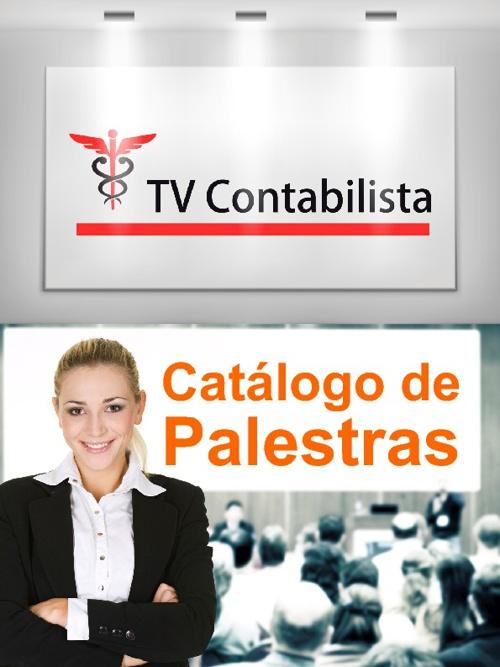 Catálogo de Palestras - TV Contabilista