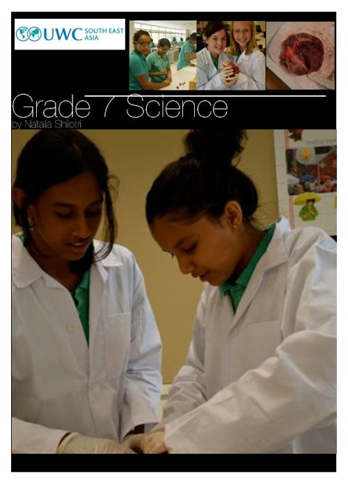 Science Book- Unit 1