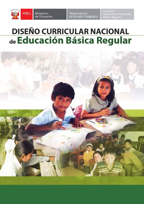 Diseño Curricular Nacional de EBR 2009