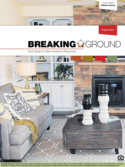 Breaking Ground August 2014